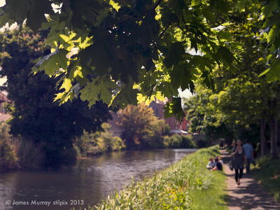 stilpix - Grand Canal, Dublin, 1