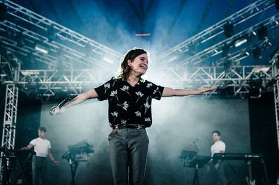 stilpix - Heloise Letissier, Christine & The Queens. Longitude Festival. 17 July 2016.