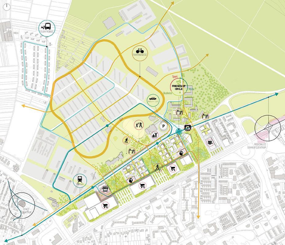 Tamandua - Site plan