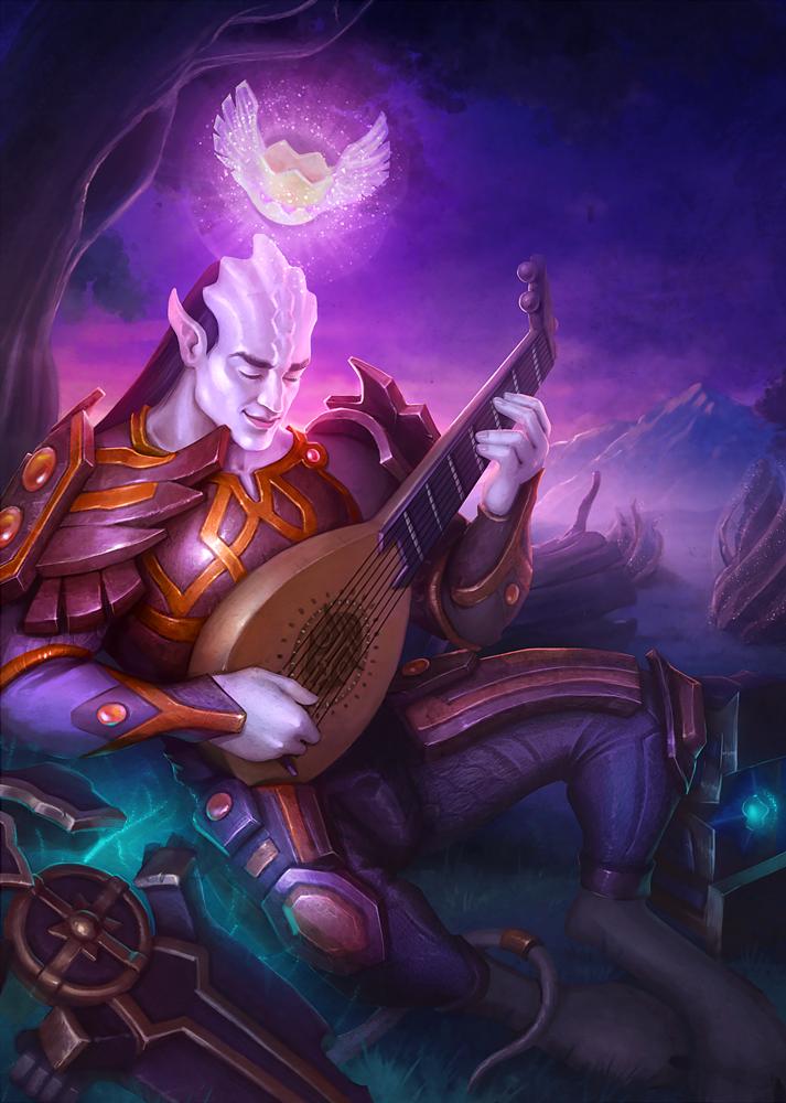 Kateryna Voron - Fanart to Warcraft