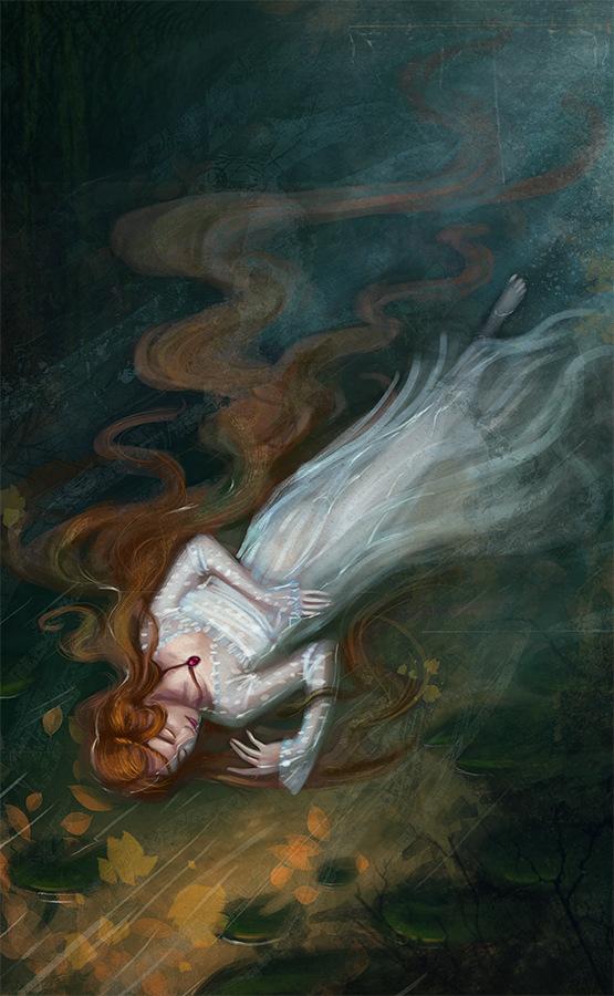 Kateryna Voron - Speedpaint. Ophelia