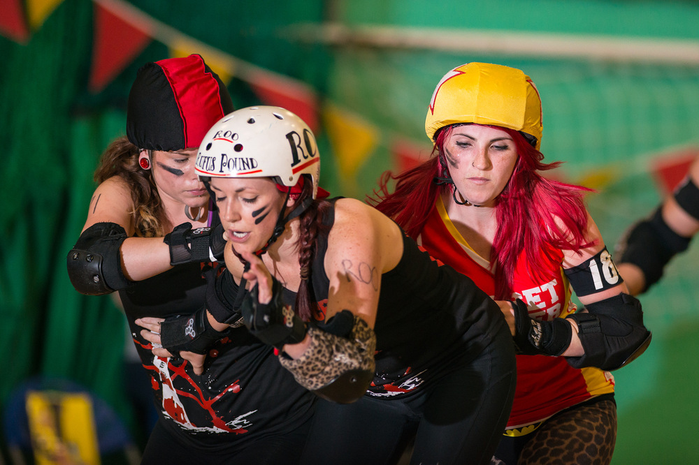 Roller Derby Photography - Jur-ass-kick Park PCRG vs Dorset
