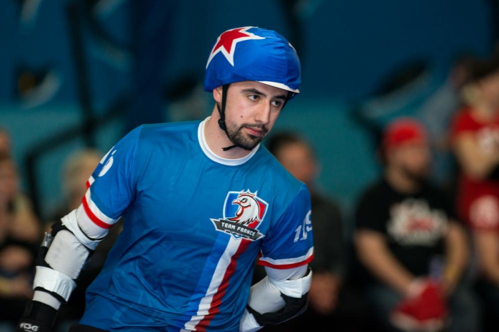 Roller Derby Photography - MRDWC - France vs Canada - Battle for Bronze