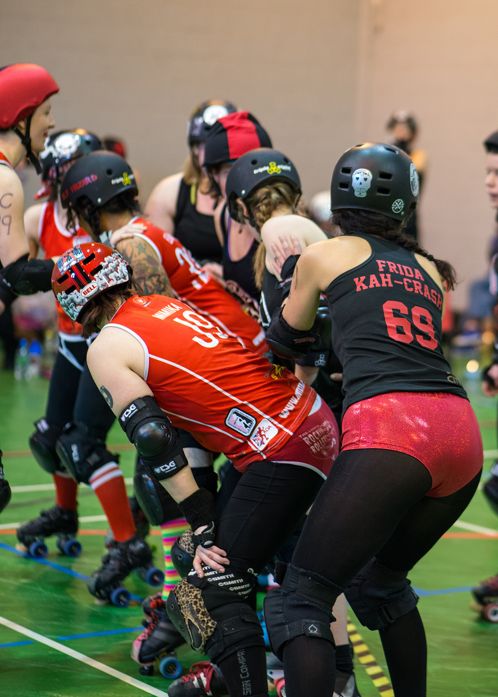 Roller Derby Photography - Plymouth City Roller Girls Vs London Rockin Rollers B Team