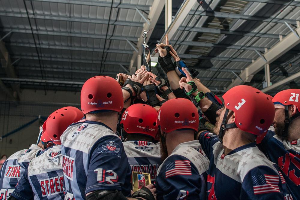 Roller Derby Photography - MRDWC - End Ceremony