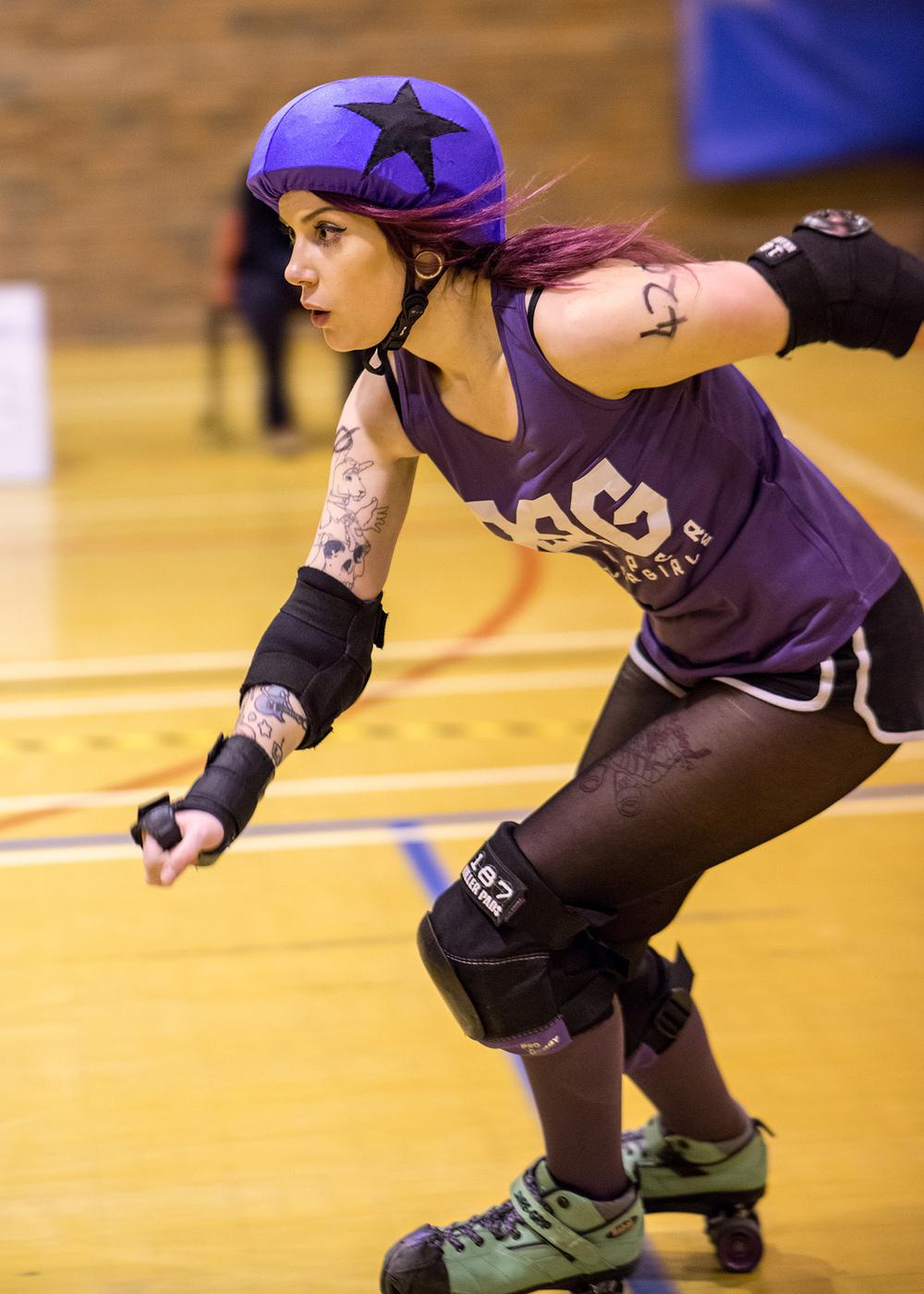 Roller Derby Photography - Devon Clotted Screamers vs Reaper Rollergirls