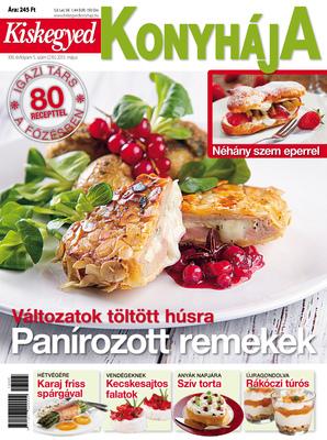 Zoltan Fabians portfolio page - Client: Kiskegyed Konyhája magazine