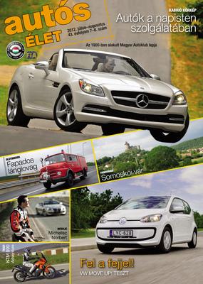 Zoltan Fabians portfolio page - Client: Autós Élet magazine / Hungarian Automobile Club