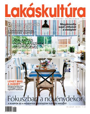 Zoltan Fabians portfolio page - Client: Lakáskultúra magazine