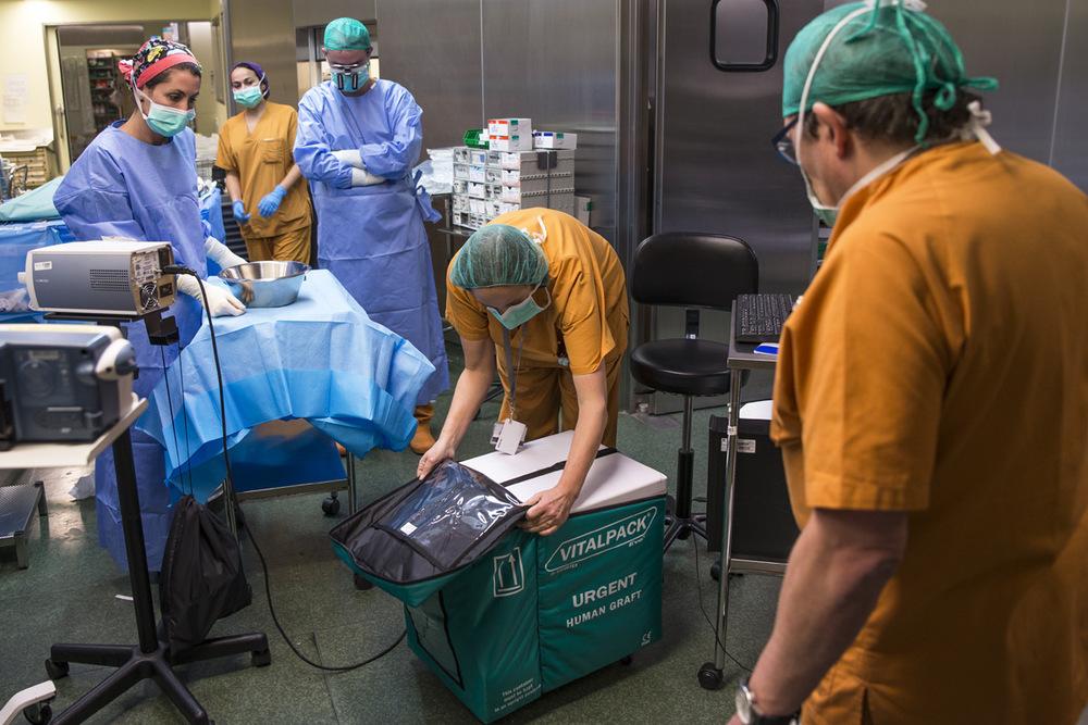 nicolascarvalhoochoa - Carmen es la encargada en verificar y recibir el órgano del donante antes de una operación quirúrgica. Minutos ante de la llegada del órgano, todo el equipo médico se encuentra ya esterilizado y preparado para trabajar en la de quirófanos. Según el tipo de operación, Carmen convoca a distintos grupos de especialistas pocas horas antes de comenzar trabajar.