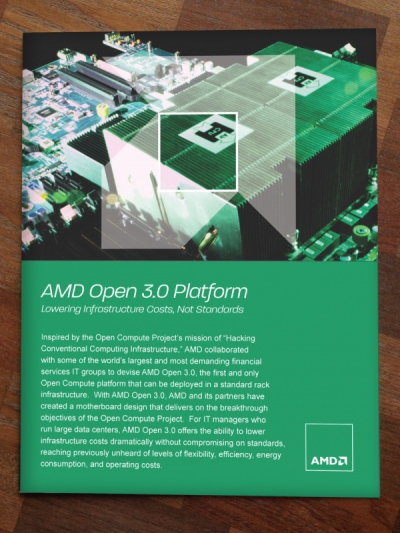 Stacy Reilly Design - AMD Open Compute Booklet