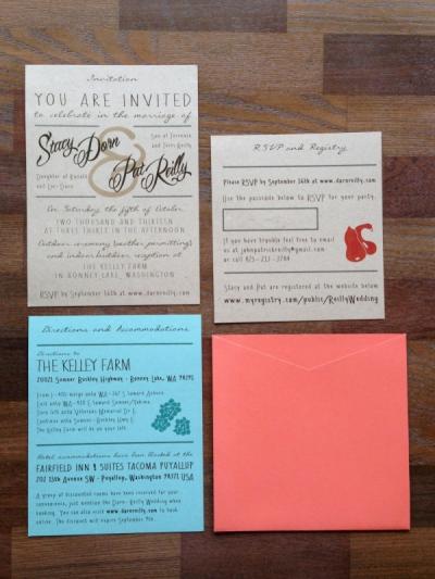 Stacy Reilly Design - An October Wedding