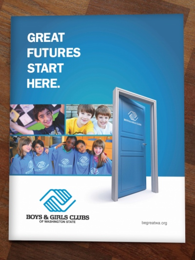Stacy Reilly Design - Boys and Girls Club Annual Report