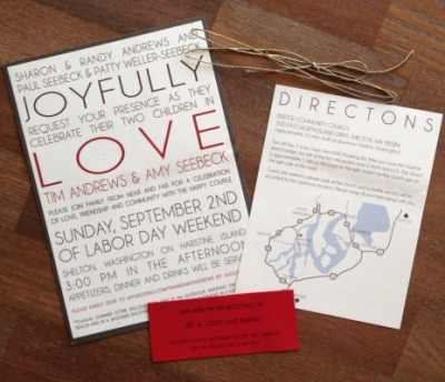 Stacy Reilly Design - A Rustic September Wedding