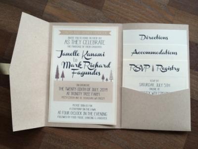 Stacy Reilly Design - Summer Tree Farm Wedding