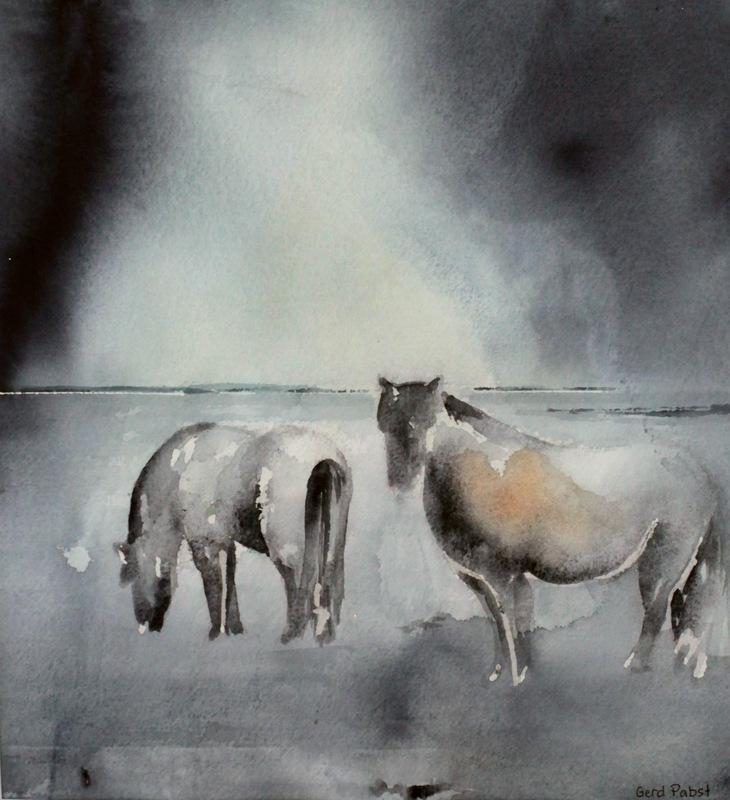 Gerd Pabst - Islandshästar