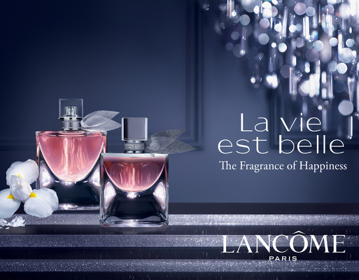 Will Dawes.design - Lancome advertisement
