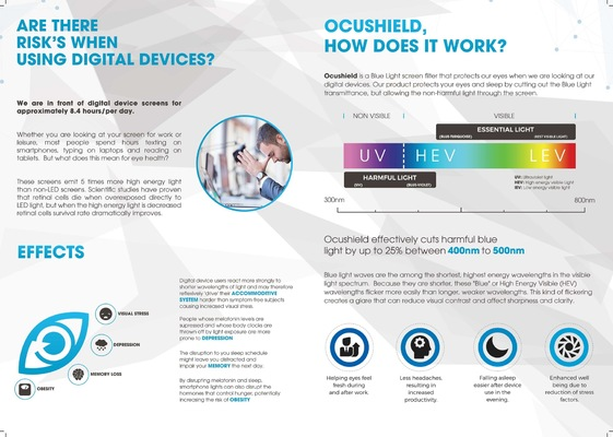 Will Dawes.design - Ocushield brochure design