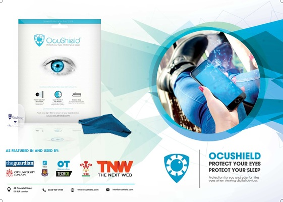 Will Dawes.design - Ocushield brochure design