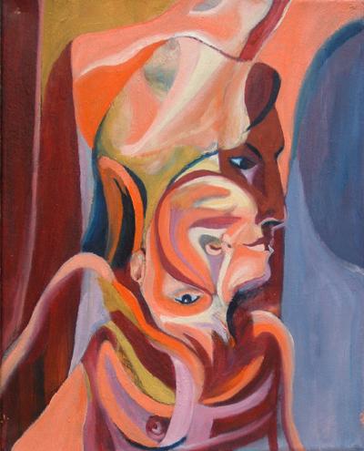Pinturas, dibujos y grabados - El corazón escondido