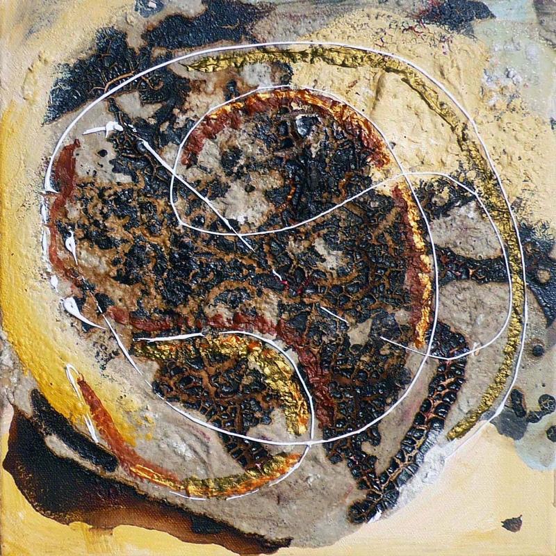 Pinturas, dibujos y grabados - Danza cósmica I