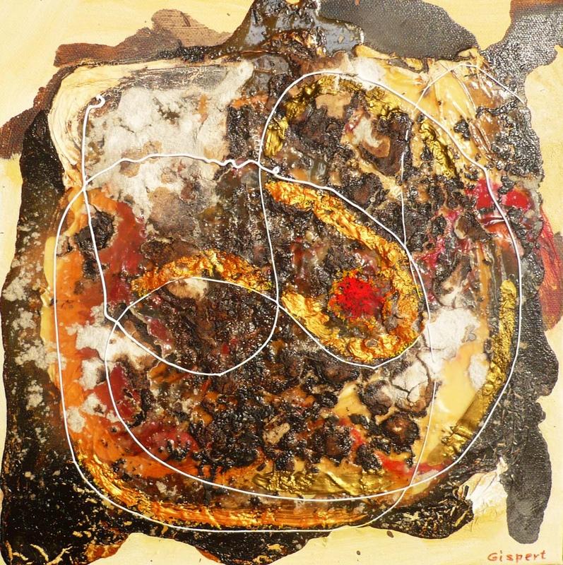 Pinturas, dibujos y grabados - Danza cósmica V