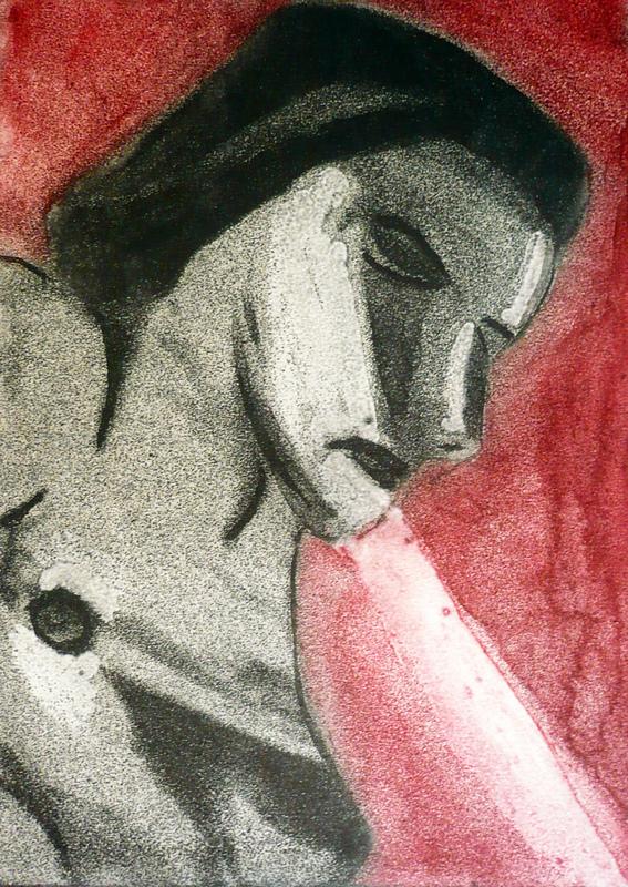 Pinturas, dibujos y grabados - Cristacización I