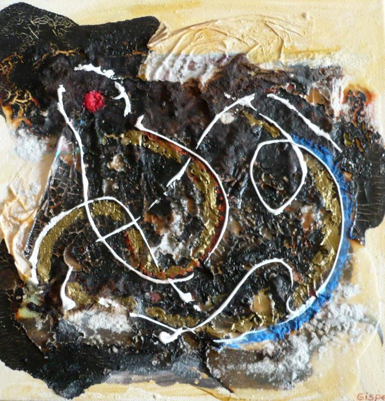 Pinturas, dibujos y grabados - Danza cósmica III
