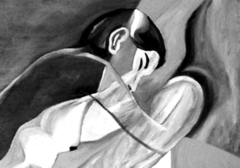 Pinturas, dibujos y grabados - Detrás de la morada I