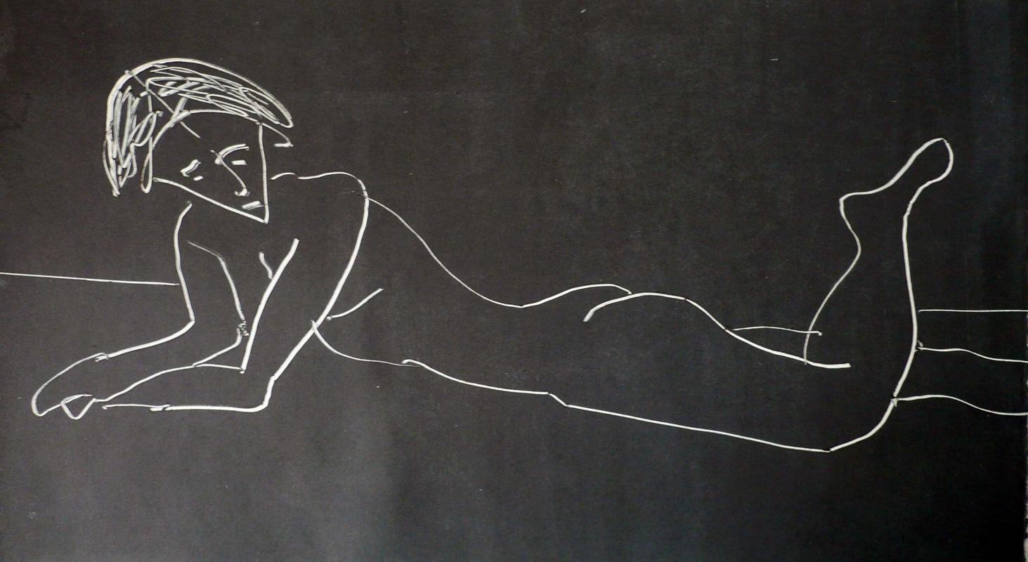 Pinturas, dibujos y grabados - Modelo