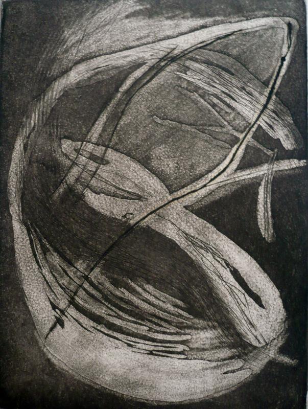 Pinturas, dibujos y grabados - La serpiente del mundo