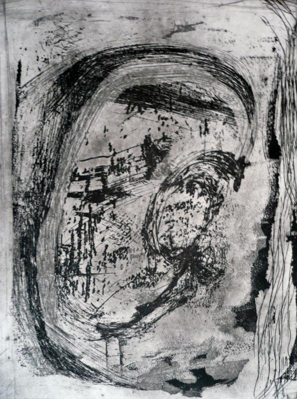Pinturas, dibujos y grabados - Paisaje japonés