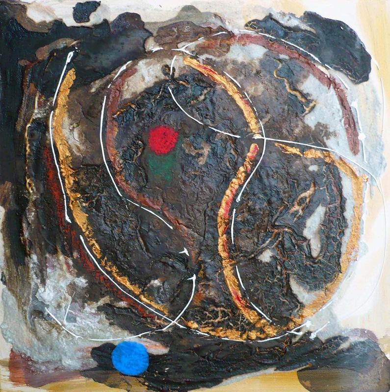 Pinturas, dibujos y grabados - Danza cósmica II
