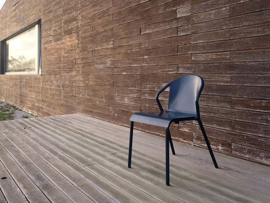 PEDRO SOTTOMAYOR DESIGN INDUSTRIAL - MARIA / MANEL Aluminium chairs for ADICO