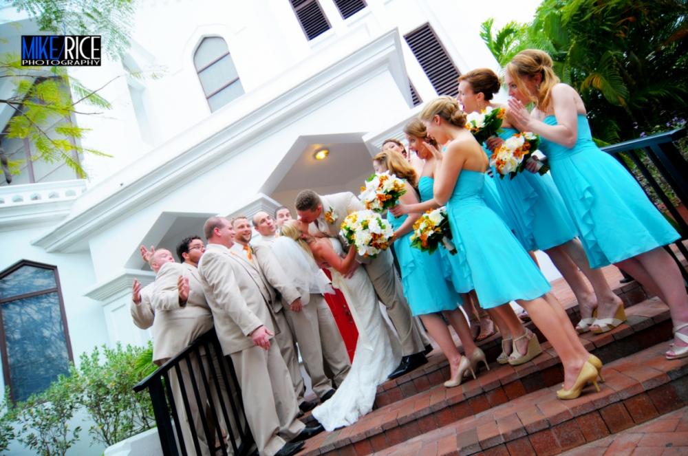 Wedding Photography - North Carolina - Bridal Party, Key West Wedding, Asheville Wedding Photographer, Romantic Asheville, Mike Rice Photography
