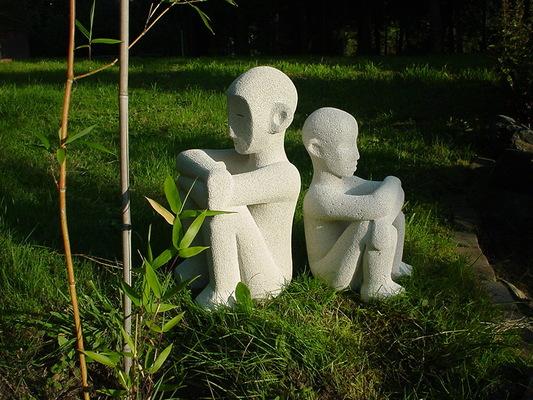 Anna Soremsky - Zwei Hockende