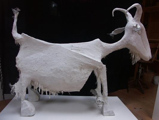 Anna Soremsky - Ziege,nach Picasso