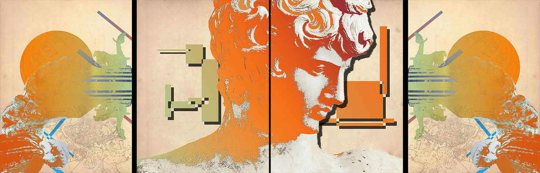 Haematinon - Fine Art, Design and Illustration - Apollo - Commissioned by Hotel Clarin