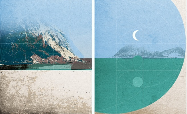 Haematinon - Fine Art, Design and Illustration - Lofoten Diptych