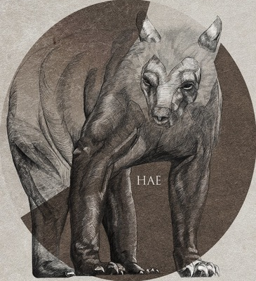 Haematinon - Fine Art, Design and Illustration - Bestiary Project: The Gargoyle
