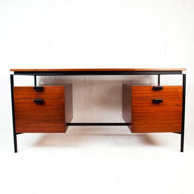 Perlapatrame - meubles - objets - vintage - BUREAU CM172 PIERRE PAULIN VINTAGE THONET 1950