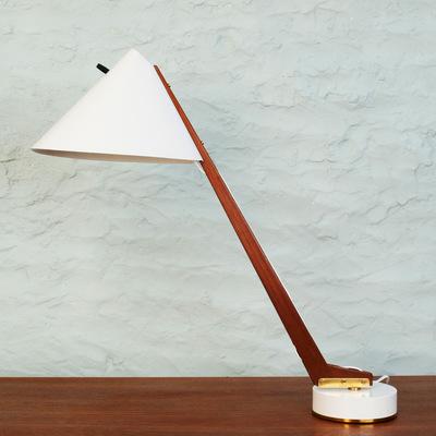 Perlapatrame - meubles - objets - vintage - lampe b54 hans agne jakobsson scandinave 1960 vintage suede