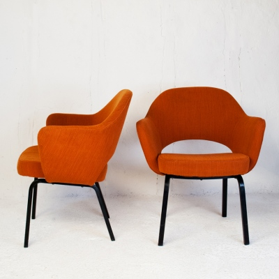 Perlapatrame - meubles - objets - vintage - PAIRE FAUTEUILS SAARINEN
