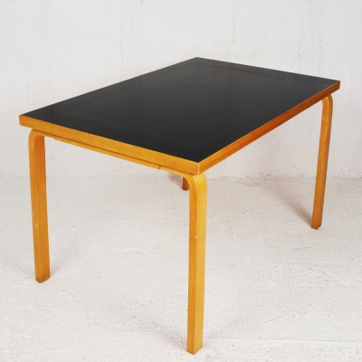 Perlapatrame - meubles - objets - vintage - TABLE ALVAR AALTO ARTEK