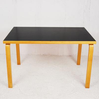 Perlapatrame - meubles - objets - vintage - table alvar aalto artek finlande scnadinave vintage
