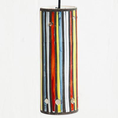 Perlapatrame - meubles - objets - vintage - suspension ceramique roger capron