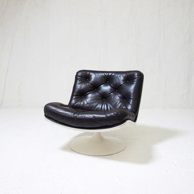 Perlapatrame - meubles - objets - vintage - Fauteuil ou chauffeuse F976 - 1960s Design Geoffrey Harcourt - Edition Artifort