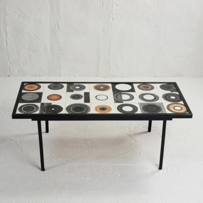 Perlapatrame - meubles - objets - vintage - TABLE BASSE MADO JOLAIN