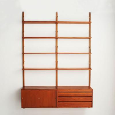 Perlapatrame - meubles - objets - vintage - BIBLIOTHEQUE POUL CADOVIUS