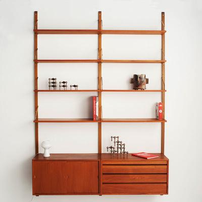 Perlapatrame - meubles - objets - vintage - bibliotheque poul cadovius scandinave vintage 1950